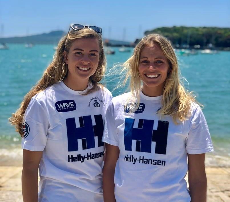 Helene Næss og Marie Rønningen fra det norske landslaget i seiling